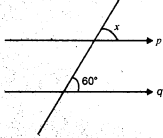 MCQ Questions for Class 7 Maths Chapter 5 Lines and Angles with Answers 1