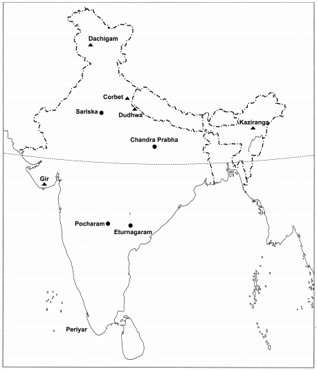 MCQ Questions for Class 6 Geography Chapter 8