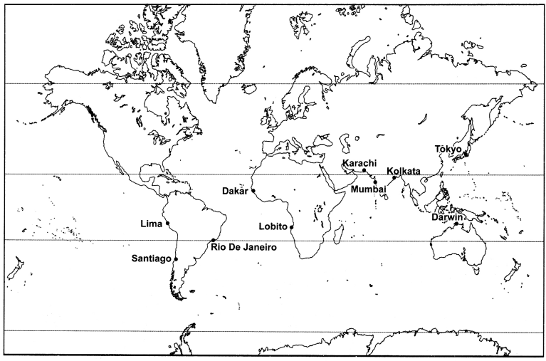 MCQ Questions for Class 7 Geography Chapter 7