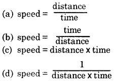 MCQ Questions for Class 7 Science Chapter 13 Motion and Time img-1
