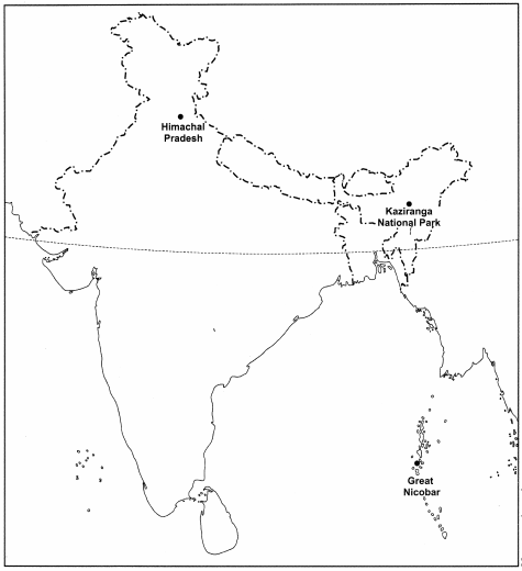 MCQ Questions for Class 8 Geography Chapter 2