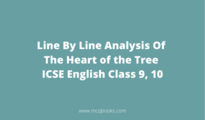 Line By Line Analysis Of The Heart of the Tree
