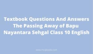 The Passing Away of Bapu Nayantara Sehgal